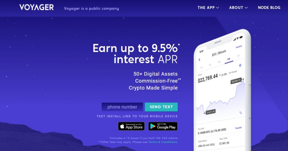 voyager crypto app