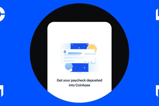 Теперь пользователи смогут внесити свою зарплату в Coinbase