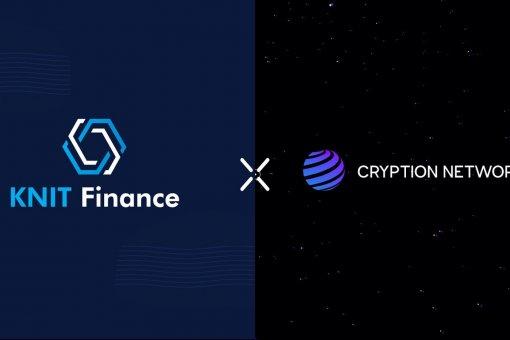 Knit Finance объявляет о партнерстве с Cryption Network