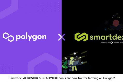 Пулы Smartdex теперь доступны на Polygon