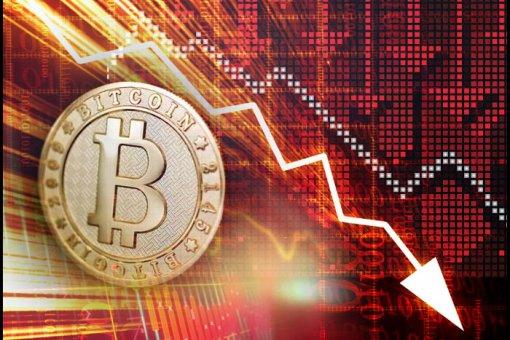 Биткоин в пятый раз торгуется ниже 7,000 долларов: цена падает более чем на 5%