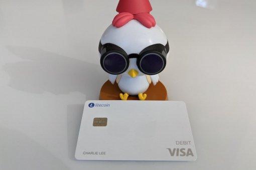 Litecoin Card стала доступна пользователям из США