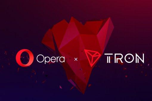 Веб-браузер Opera объявил о поддержке блокчейна Tron