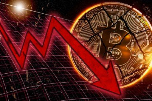 Биткоин потерял 400 долларов после падения фондовых рынков