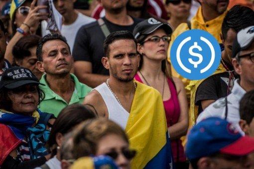 Пример «прорыва»: правительство США помогает Венесуэле через USDC